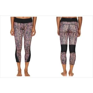 Nike Power Dri-Fit Graphic Running Crop Leggings L
